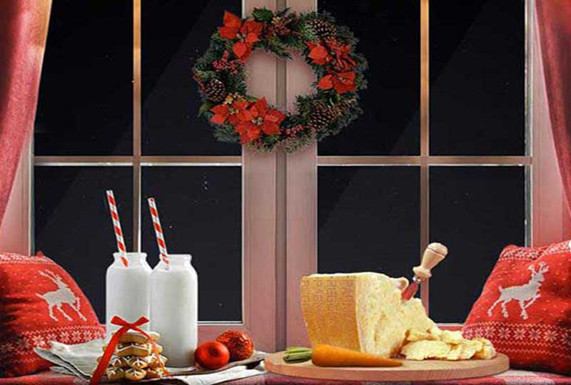 Come decorare la cucina per Natale
