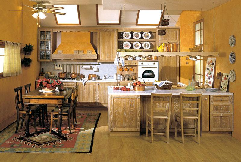 Cucina classica G - Cesano Maderno - Sala Cucine