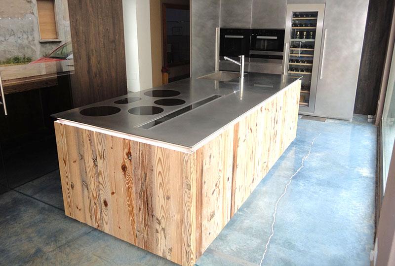 Cucina di legno - Cesano Maderno - Sala Cucine