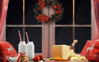 decorare cucina natale